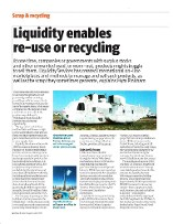 Secured feature article in trade magazine for Liquidity Services