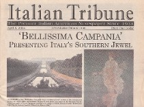International press coverage for Smithsonian Campania, Italy program series